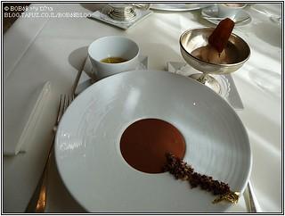 קינוח שוקולד ב- Fischers Fritz