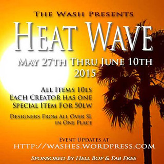 Heat Wave May 2015 Poster
