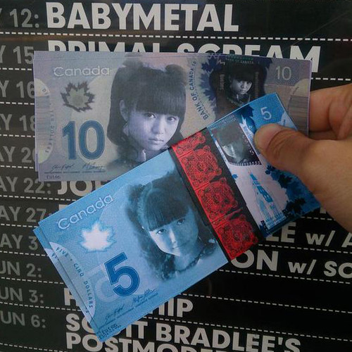 babymetal money