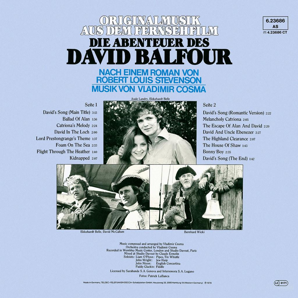 Vladimir Cosma - Die Abenteuer des David Balfour b