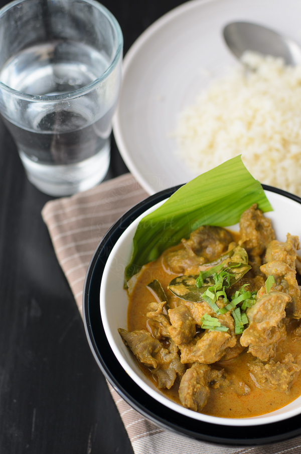 Chicken Giblet Curry recipe