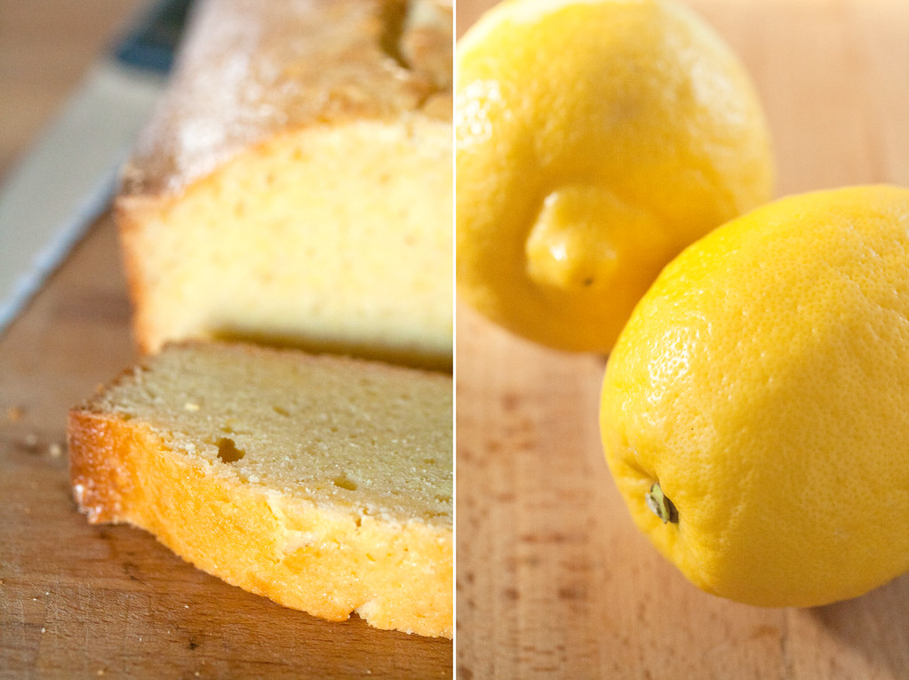 Lemon Loaf Cake With Lemon Glaze
