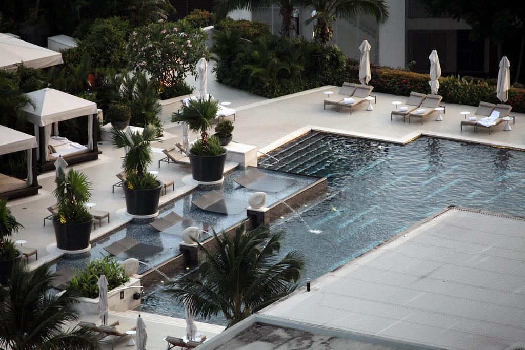 Mandarin Oriental Hotel Swimming Pool Singapore I Stayed Flickr