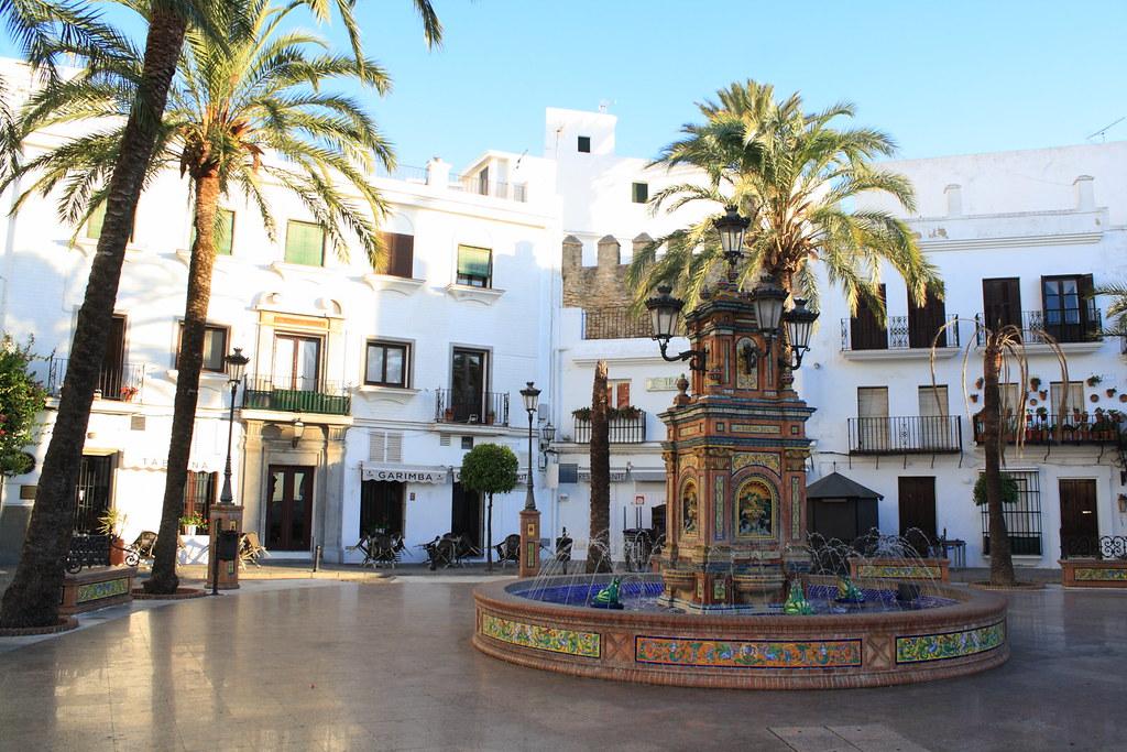 Vejer de la Frontera Spain  city images : 006330 Vejer de la Frontera | Plaza de España Vejer de la ...