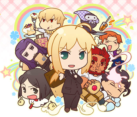 130524(1) - 『Fate/Zero』輕鬆四格漫畫《Fate/ゼロカフェ》將在暑假上映劇場版、與《俯瞰風景3D》合體!