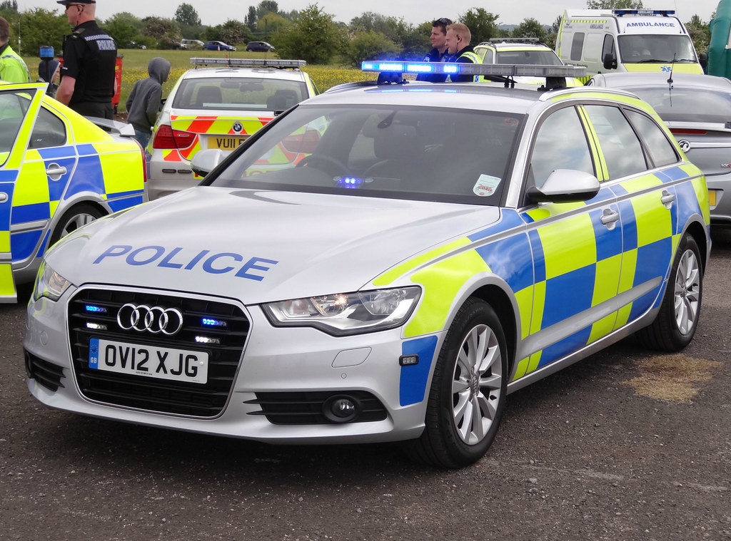 American Police Cars In The Uk