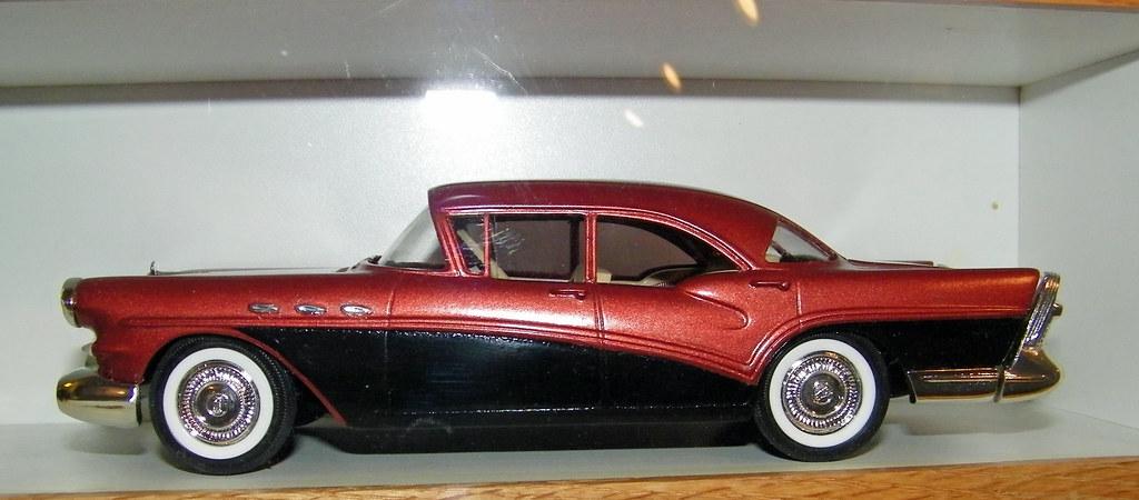 1957 buick special 4 door sedan model car coconv flickr. Black Bedroom Furniture Sets. Home Design Ideas