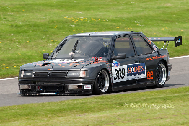 cscc special saloons no309 danny morris ricky morris peugeot 309 gti turbo 30 6 13 1 flickr. Black Bedroom Furniture Sets. Home Design Ideas