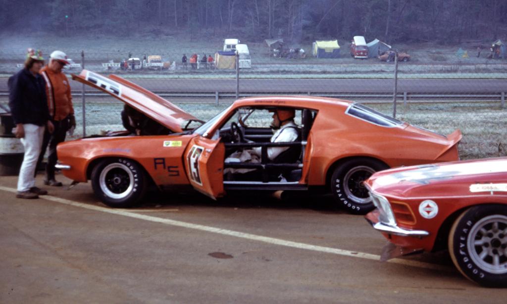 As Chevrolet Camaro Driven By Warren Agor Scca American