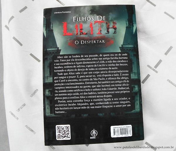 Sinopse Filhos de Lilith - O Despertar, Elaine Velasco, Madras Teen