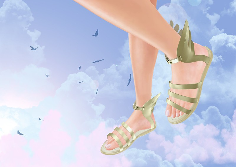 Xela sandals by .::ILLI::. @ Cosmopolitan Sales Room from 25th May