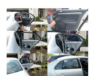 Mobile Car Door Glass Replacement