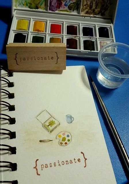 {Passionate} Watercolor