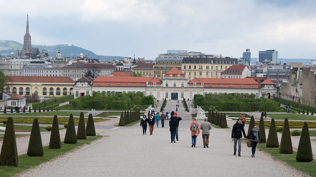 Vienna from Belvedere