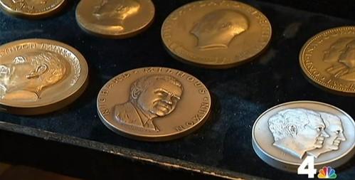 Joe Levine Presidential Medals