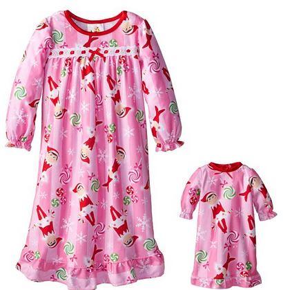 Elf On The Shelf Girls Pajamas 3 99 And Up On Amazon