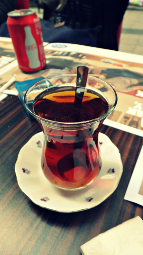 Turkey tea, a compulsory!