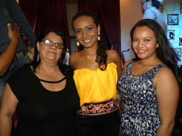 Sandra Macedo, Marcelle Almeida e Ana Beatriz Pedroso