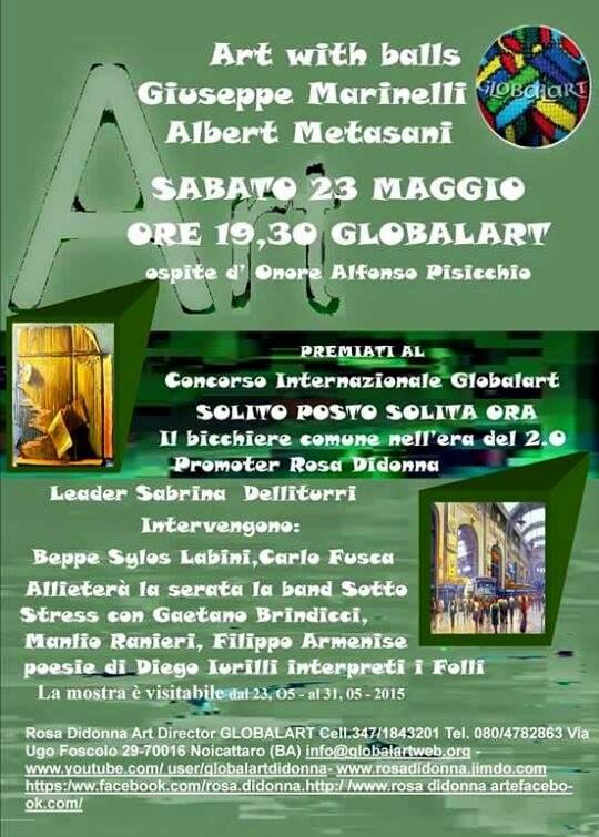 Noicattaro. Evento GlobalArt intero
