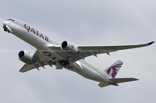 Qatar Airways Airbus A350-941 cn 010 F-WZFE // A7-ALD