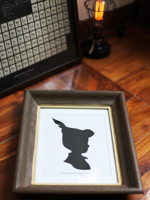 peter pan silhouette 2