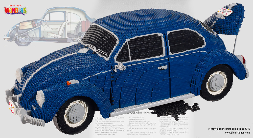 lego vw beetle the vw beetle is one of the most iconic. Black Bedroom Furniture Sets. Home Design Ideas