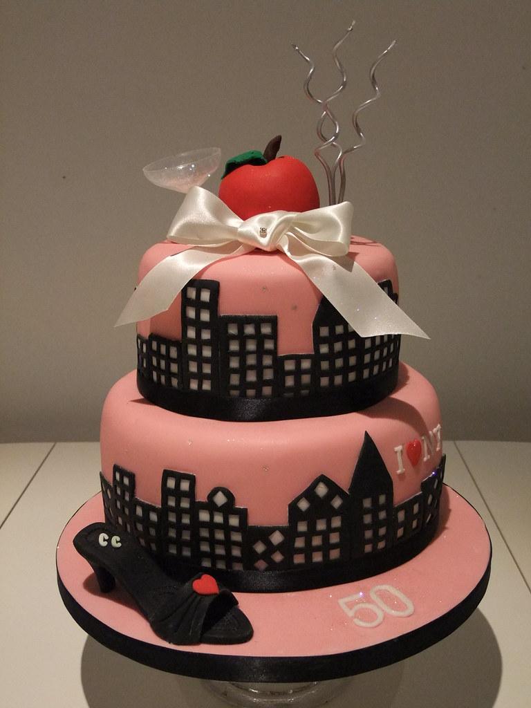 Birthday Cakes Sex In The City