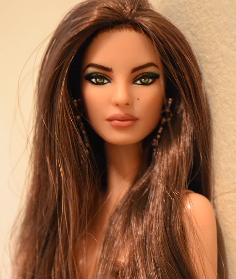 Raquel Barbie Basics Barbie Repaint Raquel Is An
