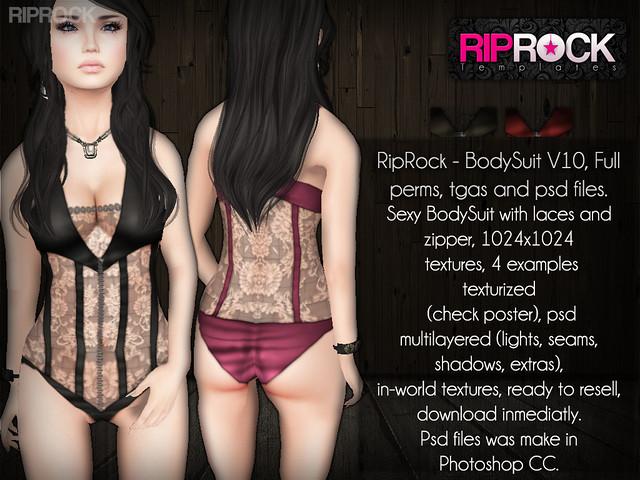 RipRock - BodySuit V10 POSTER