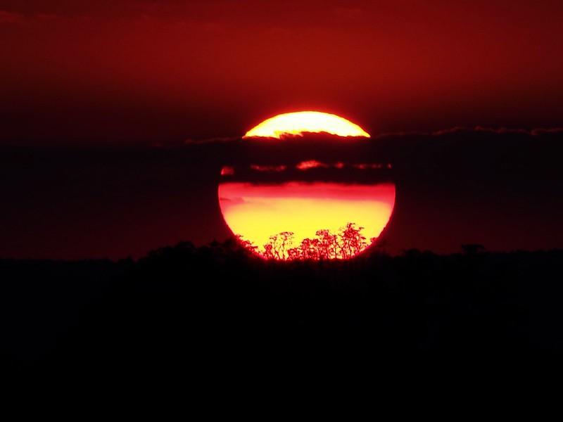 African Sun-Set