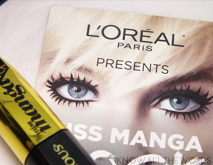 L'Oreal Voluminous Miss Manga Rock Mascara (11)