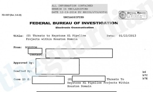 photo of FBI documents