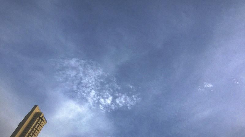 Maio: céu
