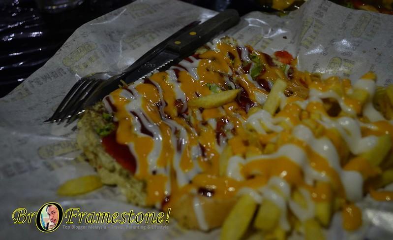 Rasta John - A&J Burger Grill, Sungai Buloh