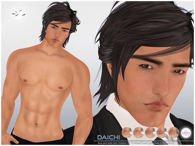 [DBF] Daichi skin The Mesh Project head body installers