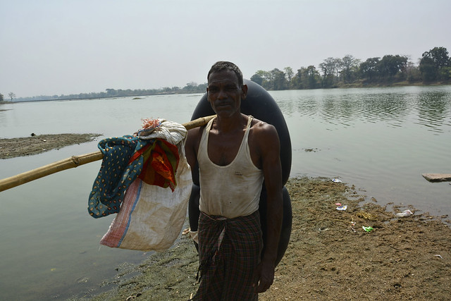 """""""Local varieties of fish such as Pengana, Khodawa, Kotri, Sarangi and Rudani have almost vanished. The main reason is pollution and building of various anicuts on the river"""", says Darbari Ram Nishad, a fisherman of Malaud village in Durg."""
