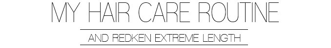 My Hair Care Routine & Redken Extreme Length   Lisa Fiege