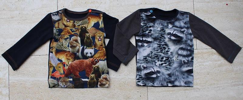 Twee shirtjes
