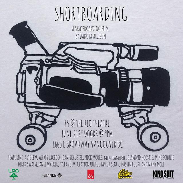 Shortboarding poster2