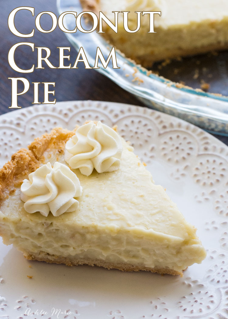 amazing flavor and texture this coconut cream pie is always a huge hit
