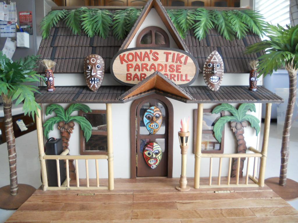 Creatology Dollhouse Tiki Bar Exterior Here S The