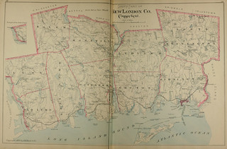 Page 188 and 189 of Town and city atlas of the State of Connecticut. / Compiled from government surveys, county records and personal investigations | by uconnlibrariesmagic