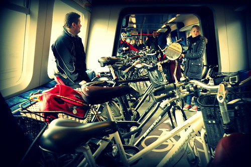 Copenhagen Train With Bicycles | by Mikael Colville-Andersen