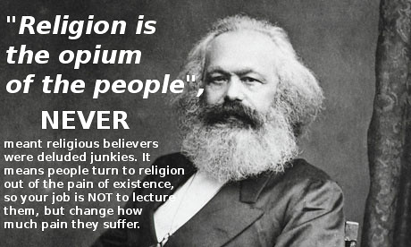 an analysis of karl marxs philosophy on religion Ideological and sociological backgrounds to karl marx's theory of religion karl marx is primarily concerned with the alienation (deprivation) of his analysis then looks at religion mainly as a product of alienation there are a lot of influences on marx.