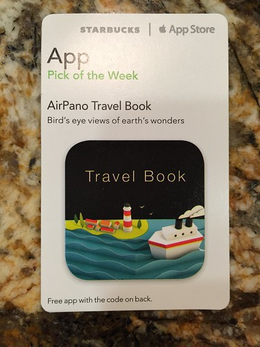 Starbucks iTunes Pick of the Week - AirPano Travel Book
