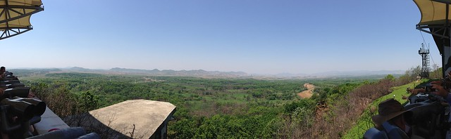Panoramic views of North Korea