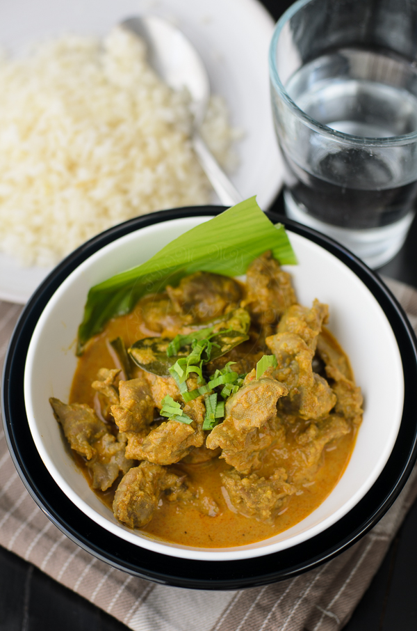 Chicken Giblet Curry