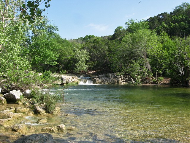 Austin barton creek twin falls march 31 2012 by for Barton creek nursery