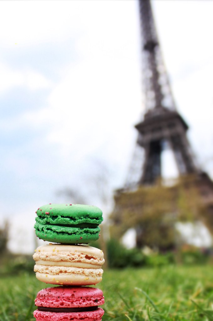 Eiffel Tower of Macarons | Scott and Michele Gabree | Flickr