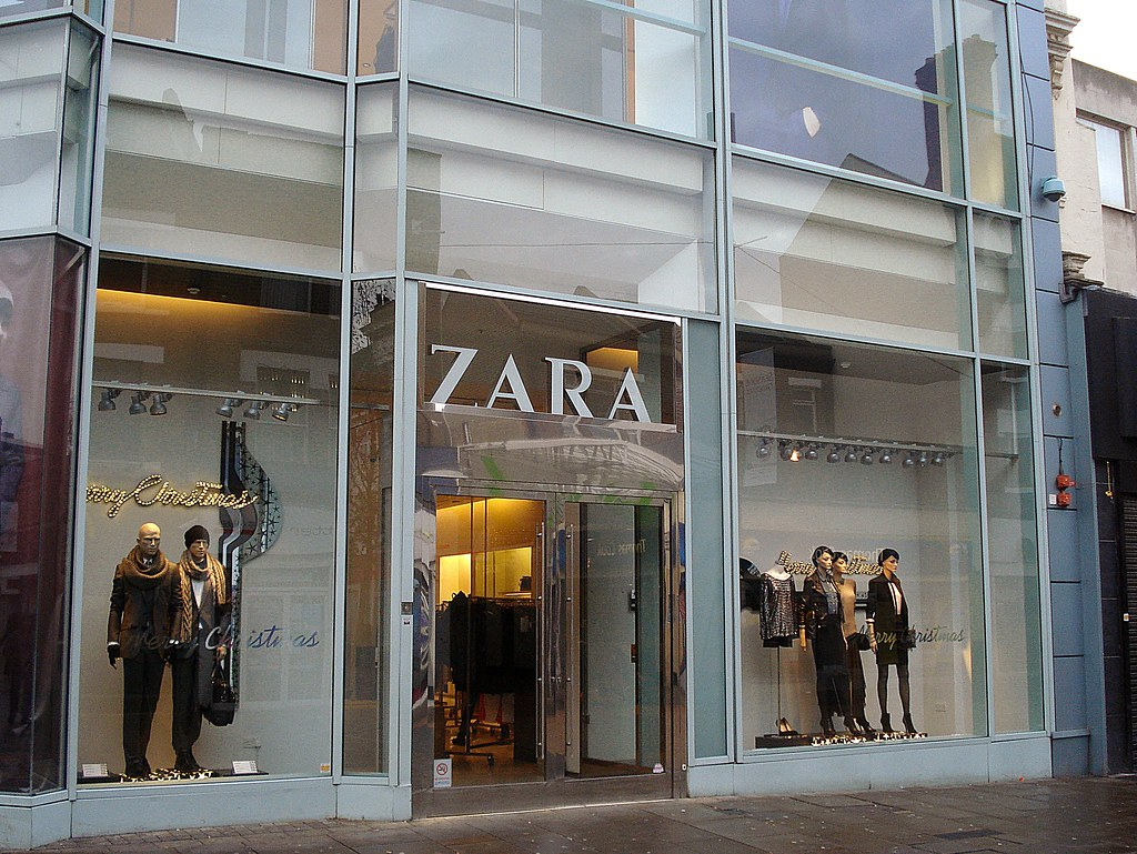 Zara Croydon London Cr0 In Centrale On North End